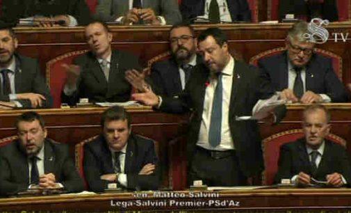 Italijos Senatas leido patraukti baudžiamojon atsakomybėn buvusį vice-premjerą Matteo Salvini
