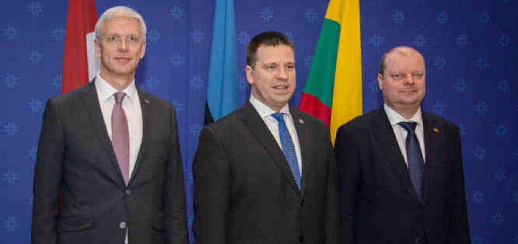 S. Skvernelis džiaugiasi, jog artėjama prie bendro Baltijos šalių susitarimo blokuoti Astravo elektrą