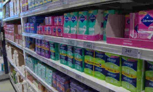 Škotijoje moterims nemokamos higienos priemonės –  įklotai ir tamponai