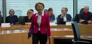 Europos Komisijos vadovė Ursula von der Leyen dalyvavo Vokietijos parlamento apklausoje