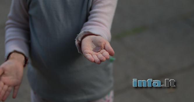 Vaikas, i6malda, skurdas