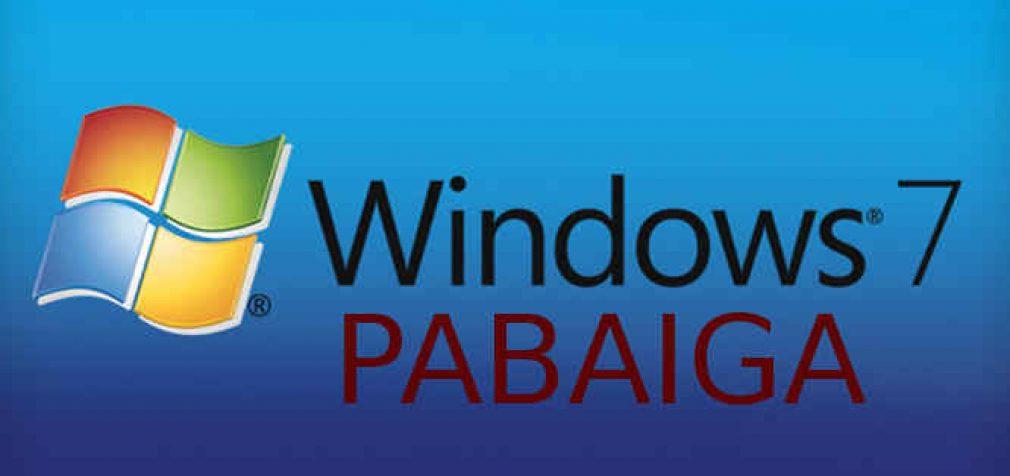 """""""Windows 7"""" OS nebepalaikoma. Kaip apsaugoti operacinę sistemą?"""