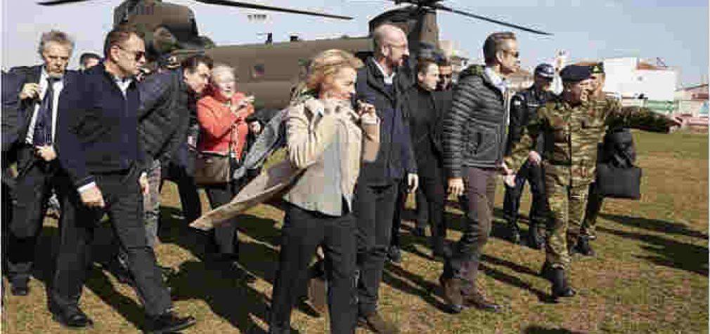 ES skirs Graikijai 700 mln eurų, kaip paramą kovai su migracija