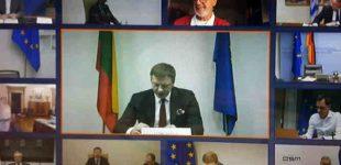 Euro grupėje aptarti tolesni veiksmai kovoje su COVID-19