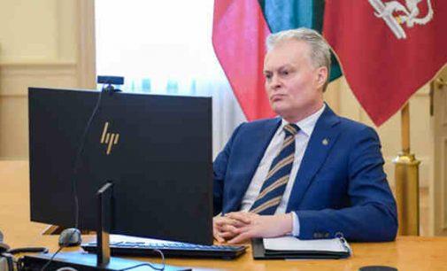 Gitanas Nausėda: privalome užtikrinti sklandų Baltijos šalių piliečių grįžimą