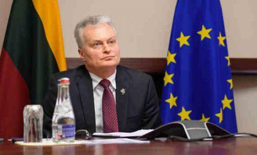 G. Nausėda: ES ryžtas reikalingas dabar, negalime delsti