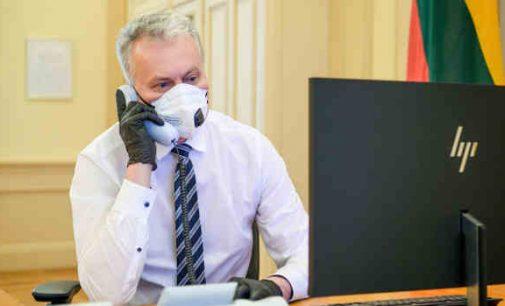 G. Nausėda su Europos Komisijos viceprezidentu aptarė Astravo AE saugos problemas, lyg galėtų ką nors pakeisti