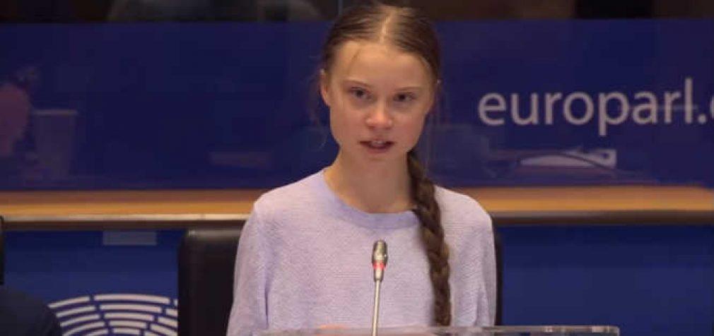 Greta Thumberg Briuselyje ginčijasi su politikais [video]