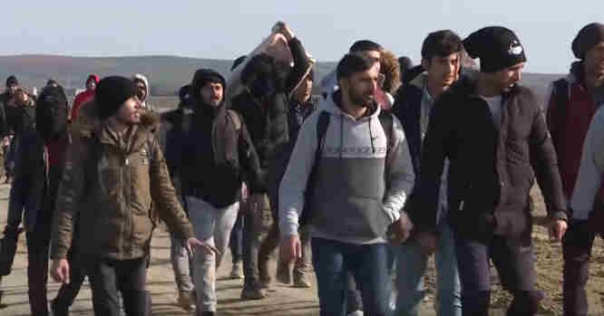 Migrantai į Europą