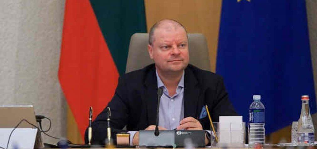 Saulius Skvernelis: Vyriausybė priėmė sprendimą dėl karantino paskelbimo nuo kovo 16 d. visoje Lietuvoje