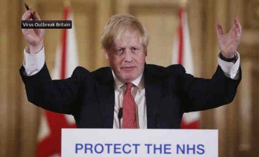 Britų premjeras Borisas Džonsonas paguldytas į ligoninę su COVID-19 infekcija