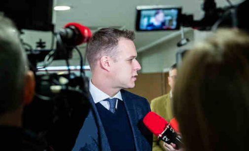 Laisvėjant karantinui Gabrielius Landsbergis susirūpino klausimais apie šalies ekonomiką