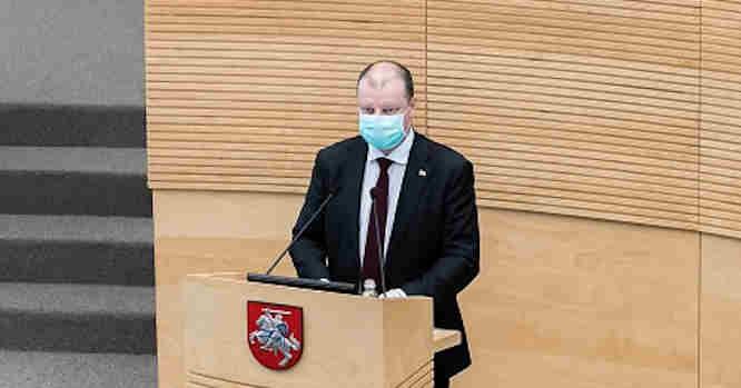 Saulius Skvernelis - metinė vyriausybės ataskaita