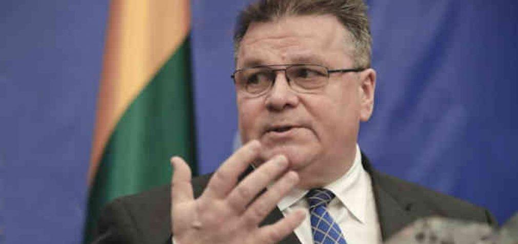 L. Linkevičius: pasisakė už Honkongo autonomiją ir paragino ES pasmerkti Kiniją
