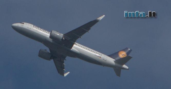 Lufthansa lėktuvas