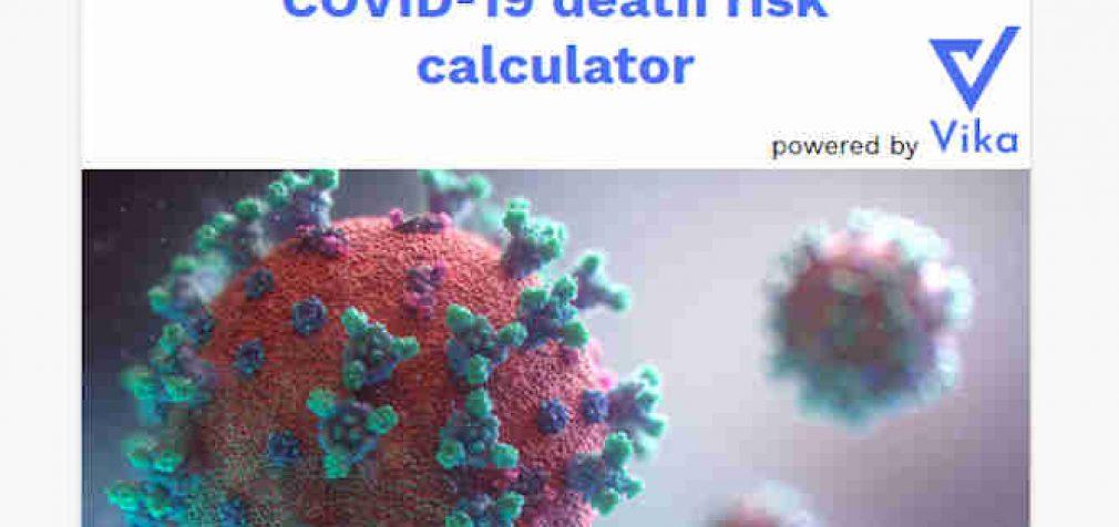 Mirties tikimybė: skaičiuotuvas, skirtas apskaičiuoti mirties riziką susirgus koronavirusu