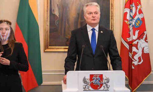 Prezidentas: už laikiną mokesčių sumažinimą ir 500 mln. eurų paramą šeimoms