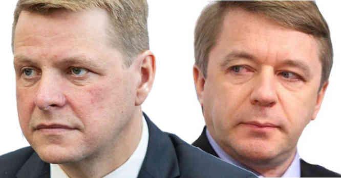 Remigijus Šimašius ir Ramūnas Karbauskis