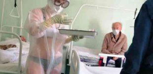 """RF Dūmos deputatas paragino skatinti """"slaugę su kelnaitėmis ir liemenėle"""" už noro gyventi sužadinimą pacientams"""