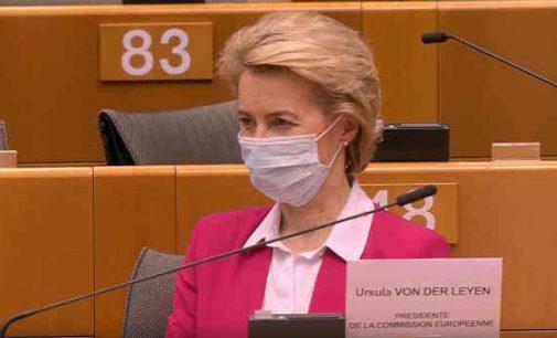 Europos Komisijos planas dėl 750 mlrd eurų išmokėjimo šalims narėms palaikytas EP