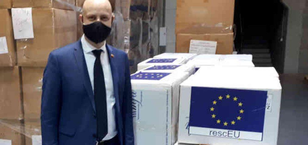 20 tūkstančių Europos Komisijos perduotų respiratorių bus perduot į medicinos rezervą