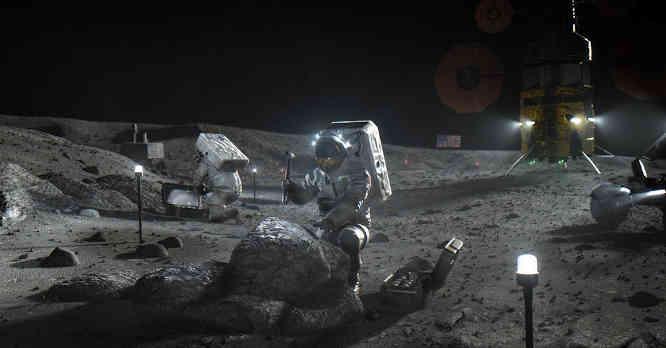 Žmonės Mėnulyje