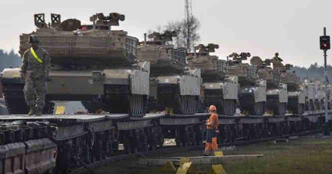 Amerikiečių tankai
