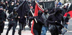 """""""Antifa"""" bus priskirta teroristinėms organizacijoms"""