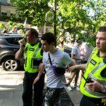 Antirasistas aktyvistas sulaikytas policijos
