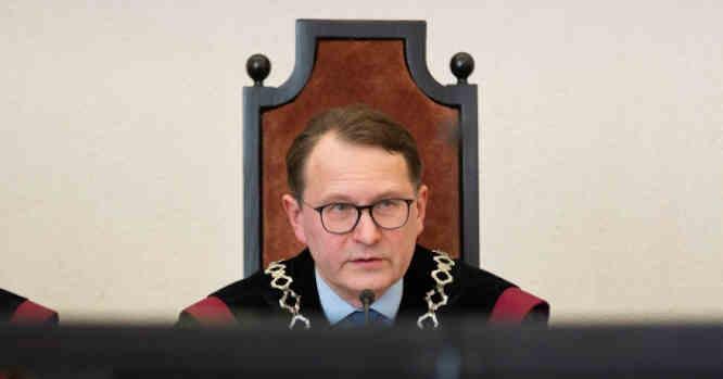 Dainius Žalimas - Konstitucinio teismo pirmininkas