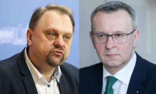 Vakar sulaikytiems V. Sutkui ir M. Zalatoriui skirtos nesusijusios su laisvės atėmimu kardomosios priemonės