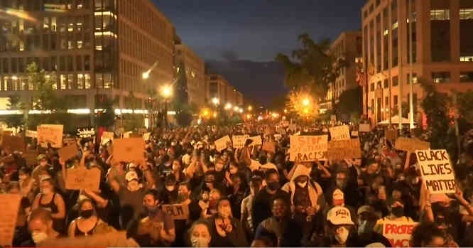 Protestai JAV dėl George Floyd mirties