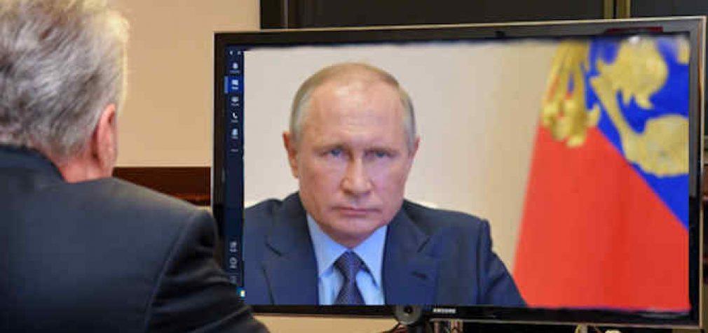 Prezidentas G. Nausėda pasveikino RF Prezidentą V. Putiną nacionalinės dienos proga