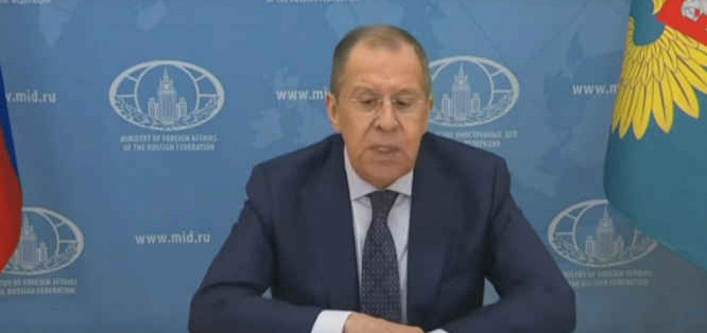 """Rusijos URM vadovas: """"Mes neprašome nuimti sankcijas nuo Rusijos"""""""