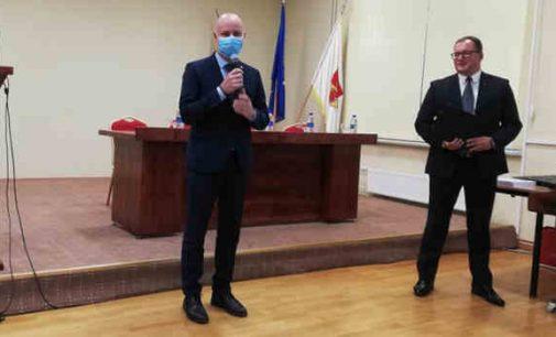 Aurelijus Veryga apdovanojo medaliais Klaipėdos regiono medikus