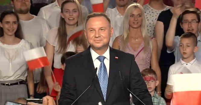 Lenkijos prezidentas Andrzejus Duda