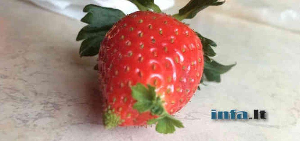 Nepilnai ar neteisingai ženklinami parduodami vaisiai, daržovės, uogos, gali užtraukti baudą