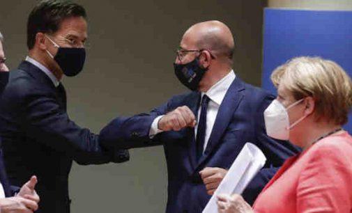 ES viršūnių susitikime patvirtintas Europos Sąjungos biudžetas ir ekonominės pagalbos planas