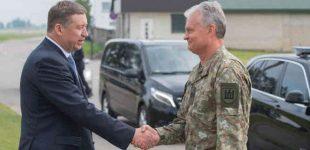 """KAM ministras R. Karoblis: """"Stiprinama oro erdvės gynyba toliau stiprina atgrasymą"""""""