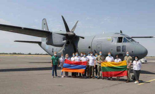 Lietuvos medikai ir ekspertai iš Armėnijos grįžo atlikę svarbią misiją