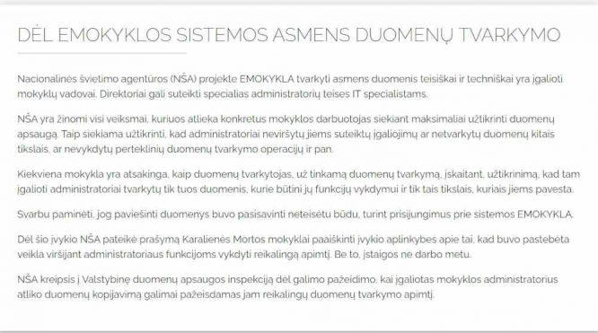 Ramūno Karbauskio pasidalintas raštas