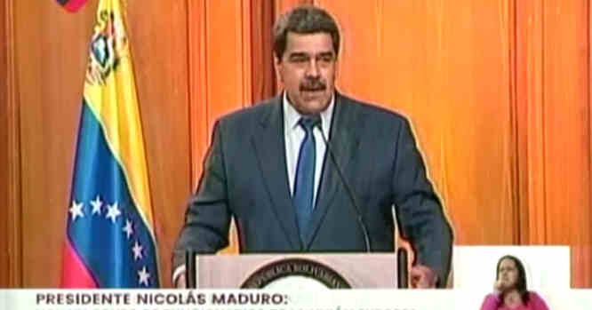 Venesuelos prezidentas Nicolas Maduro