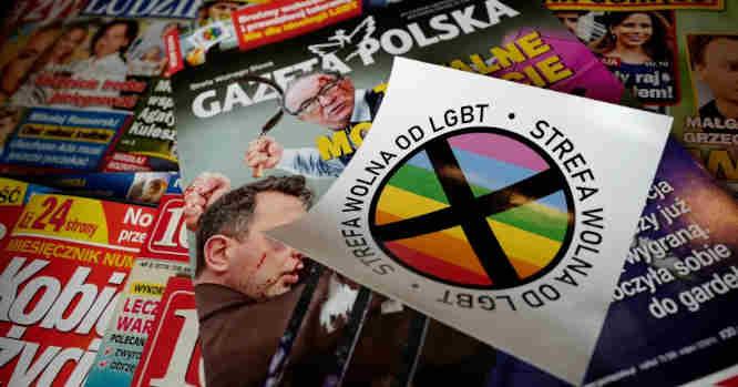 Zonos be LGBT Lenkijoje