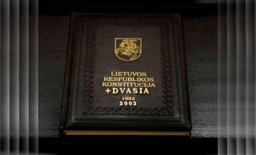 Povilas Masilionis. Konstitucinių dvasių būstinėje