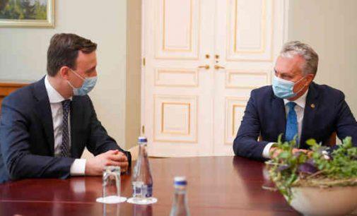 A. Nausėda trečiadienį ketina su ES lyderiais aptarti taikų valdžios perdavimo Baltarusijoje variantą