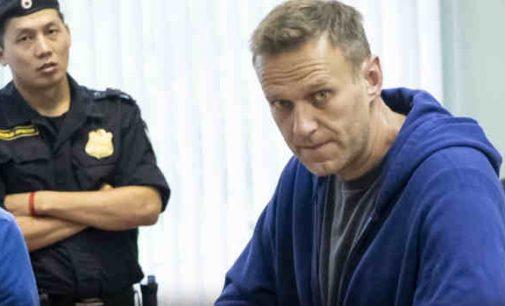 Navalno organizme rasti apnuodijimo pėdsakai