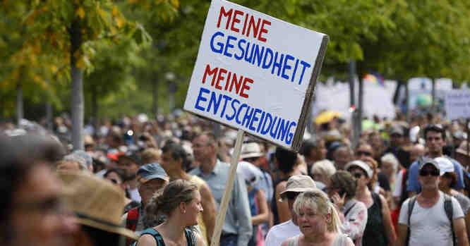 Demonstracija Berlyne rugpjūčio 1 d.