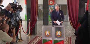 Baltarusijoje baigėsi rinkimai, kuriuose, pagal išankstinius balsavimų rezultatus nugalėjo A. Lukašenka