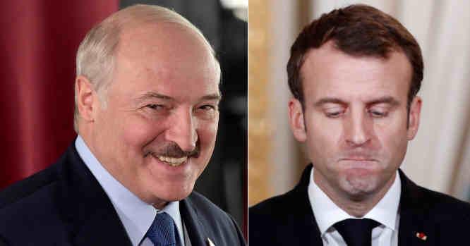 A. Lukašenka ir E. Malronas