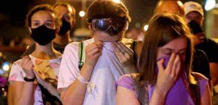 Minske tūkstančiai žmonių atsisveikino su žuvusiais protestų metu